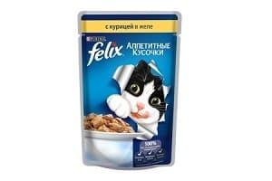 Корм для кошек Felix: обзор, отзывы и цены