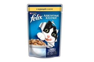Корм для кошек Felix