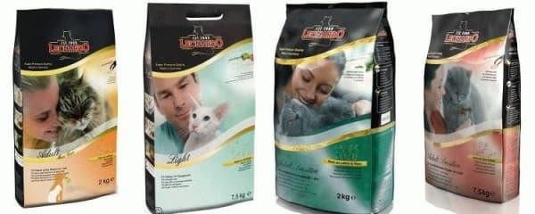 Корм для кошек Leonardo (Леонардо): обзор, отзывы и цены