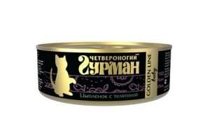 Корм для кошек Четвероногий Гурман