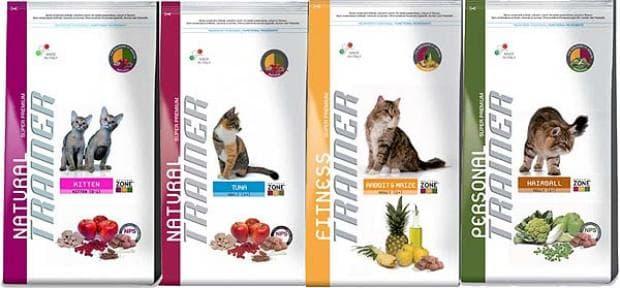 Корм для кошек Trainer
