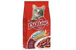 Корм для кошек Darling: обзор, отзывы и цены