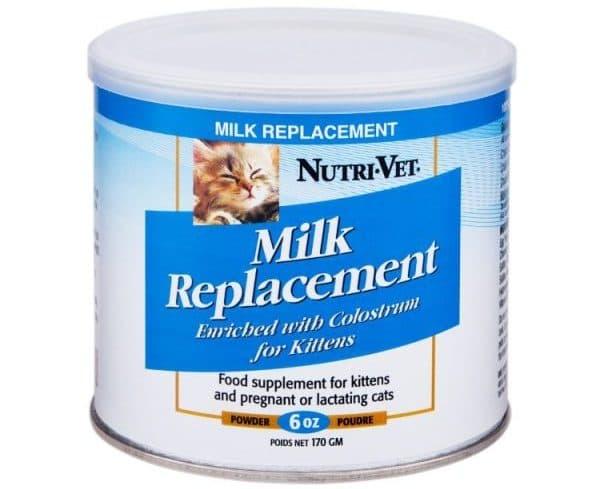 Заменители кошачьего молока нутривет