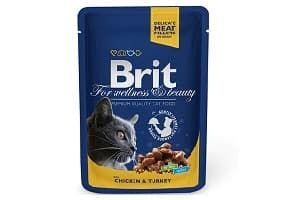 Корм для кошек Brit