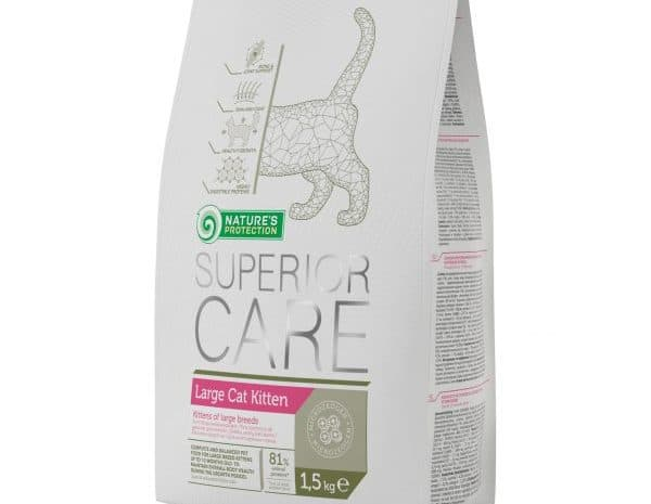 NATURE'S PROTECTION SUPERIOR CARE LARGE CAT KITTEN