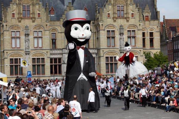 Всемирный день кошек в Бельгии