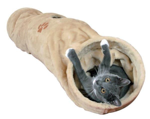 Лежак для кошки тоннель