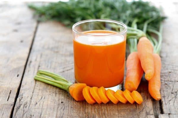 Сок моркови от глистов у кошек